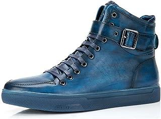 Jump Newyork Men's Sullivan High-Top Fashion Sneaker Navy 8.5 D US