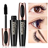 ARTIFUN 4D Silk Fiber Mascara: Waterproof Eyelash Extension Mascara Cream Crazy Long Curling Thick Eye Makeup Mascaras