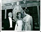 Vintage photo of Lady Sarah Spencer-Churchill e husband