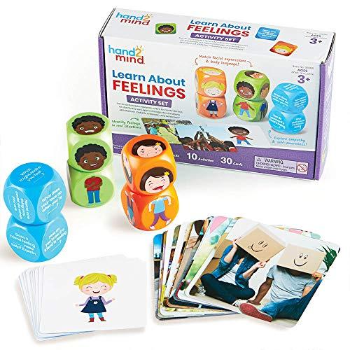 Set de Actividades Aprende sobre los Sentimientos, explora los Sentimientos y Practica Las Habilidades sociales y emocionales, 3+ años