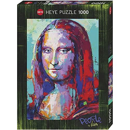 Heye-Puzzles Mona Lisa - 1000 Pieces, 50 x 70 cm