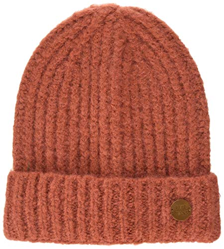 Pepe Jeans Damen Pol Hat Strickmütze, (Dark Blush 371), One Size