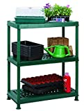 Garland Self Assembly Greenhouse Ventilated Plastic Shelving