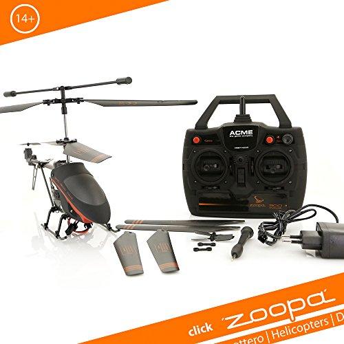 ACME - zoopa 300 elicottero   2,4 GHz   doppie lame del rotore   Indoor und esterno (AA0302)
