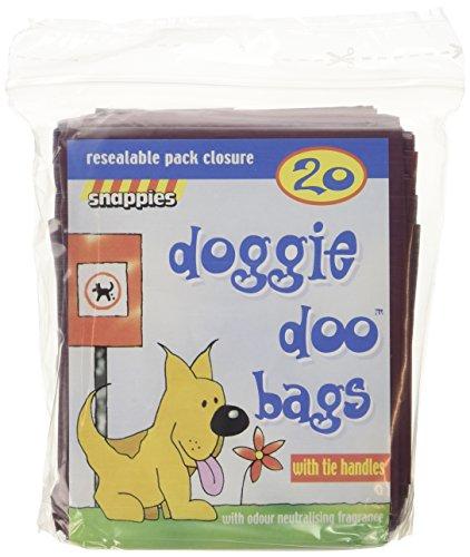 Doggie Doo Bolsas con lazo de asas y neuralizing fragancia (20unidades)