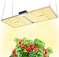 MAXSISUN PB2000 Pro Grow Light, 200W LED Grow Lights for Indoor Plants Full Spectrum Uses Samsung Diodes and Mean Well...
