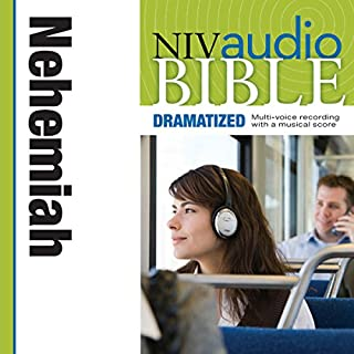 NIV Audio Bible: Nehemiah (Dramatized) cover art