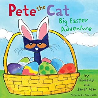 Pete the Cat     Big Easter Adventure              Written by:                                                                                                                                 James Dean                               Narrated by:                                                                                                                                 Teddy Walsh                      Length: 3 mins     Not rated yet     Overall 0.0