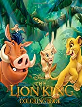 The Lion King Coloring Book: Great Coloring Books Gifts for Kids Age 4-8