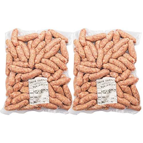 琉球ミート ウインナー ゴーヤーウインナー 6cm 1kg×2 ソーセージ 豚肉 沖縄