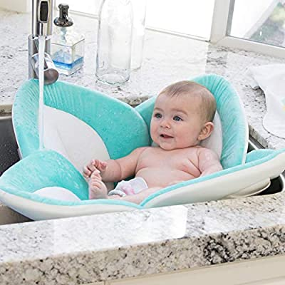 Blooming Bath Lotus - Baby Bath (Seafoam/White/Gray)