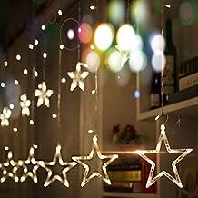 Cadena de Luces 220V LED luz estrella luz de Navidad interior ...