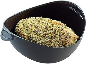 TIAHEHUAGONG Silicone steamer steamer fish kettle water boil pot food vegetable bowl basket kitchen cooking baking tools (...