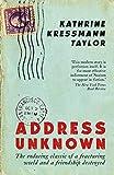Address Unknown (English Edition)