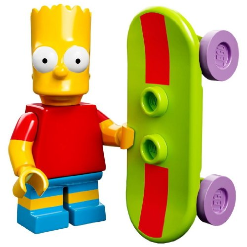 LEGO Minifiguren 71005 The Simpsons: Bart Simpson