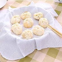Vapeur Tissu 6 Pcs Cuisine Coton Vapeur Tissu Brioches À La Vapeur Boulettes Vapeur Tissu Ménage Cuisine Fournitures