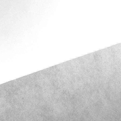 NOVELY® Viva Vlies Rückseitenvlies Spannvlies Inlettstoff Innenstoff Polstervlies Innenbezug   80 100 120 150 g/m²   1 lfm x 160cm Grammatur: 80 g/m2   Farbe: Weiß