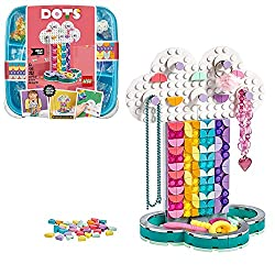 All surfaces of this accessory set can be decorated, there are 5 hooks for hanging items 'in the clouds' and a tray to hold smaller jewellery Kids can grow their design and self-expression skills as they design, decorate, re-assemble and use pieces o...