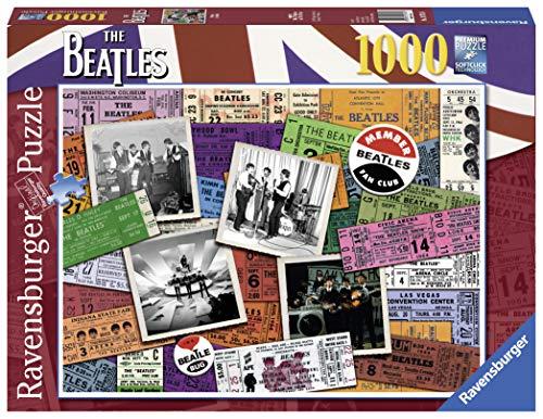 Ravensburger The Puzzle Ticket Beatles 1000Piezas, 19751