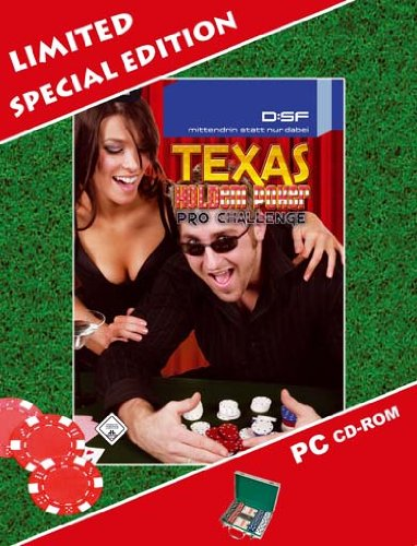 Texas Hold \'em Poker Pro Challenge Special Edition mit Pokerkoffer