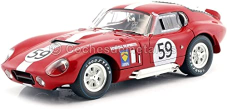 CMR CLASSIC MODEL REPLICARS CMR112 Shelby Cobra Daytona Coupe N.59 LM 1965 1:18 Compatible con