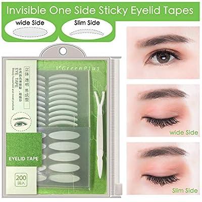 400Pcs Natural invisible Single