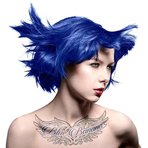 Manic Panic High Voltage Hair Dye - Vegan Hair Dye - Blue Moon (dark purple) 118ml by Manic Panic