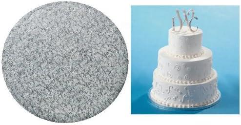 12inch Elegant Corrugated Cardboard Silver Round Ex Max 48% OFF Cake Board - Direct sale of manufacturer