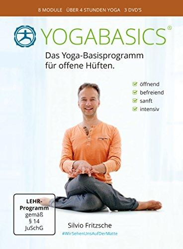 YOGABASICS: Yoga für offene Hüften (3 DVDs inkl. Online-Zugang)