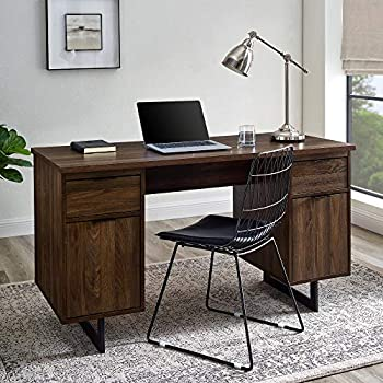 Walker Edison 54 Inch Modern Executive Desk