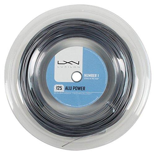 Big Banger ALU Luxilon genuino de 1,25 mm/16L tenis cadena 220 m Reel