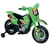 Vroom Rider VR098 6V Battery Operated Dirt Bike, Green