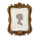 [Vintage Design] Ornately designed polyresin brushed with elegant gold. Elegant European vintage design of yesteryear's of Victoriana. [High Quality Material] Individually hand crafted for a prefect artist finish, made of resin and stain-resistance g...
