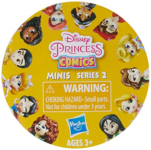 """Disney Princess Comics 2"""" Collectible Dolls Series 1 to 4 (Series May Vary. Subject to Availability.)"""