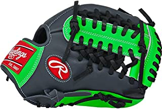 Rawlings  Gamer XLE Gloves with Modified Trap-Eze Web, Left Hand, Grey, 11.75