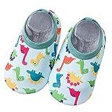 LLNONG Baby Strandschuhe Schwimmschuhe Badeschuhe Kinder Wasserschuhe Schnelltrocknende Aquaschuhe rutschfest Barfuss Schuh für Beach Pool