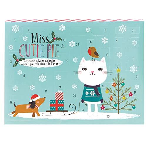 Calendario de Adviento cosmético de Miss Cutie Pie, Navidad 2019