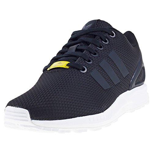 adidas Originals Unisex Adidas ZX Flux M19840 Sneaker, Schwarz (Black/Black/White), Large EU
