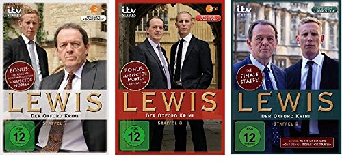 Lewis - Der Oxford Krimi - Staffel 7+8+9 im Set - Deutsche Originalware [12 DVDs]