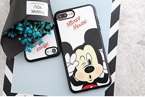 Carcasa flexible para iPhone 6 y 6S, diseño de Mickey Disney