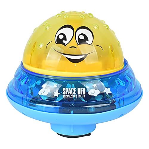 Juguetes De Baño para Bebés Juguete De Rociador De Agua De Inducción Eléctrica con Rociadores De Música Ligera, Divertidos Y Encantadores para Niños, Niños Pequeños, Bebés,A