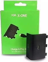 Bateria com Led e Cabo Carregador Controle Xbox One 98000MAH