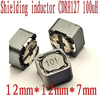 Maslin 50PCS/lot SMD Patch Shielding Power inductors CDRH74R CDRH104R CDRH127R 2.2UH 3.3UH 4.7UH 6.8UH 10UH 22UH 33UH 47UH 68UH 100UH - (Volume: CDRH 104, Value of Resistance: 33 uH)