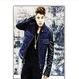 Justin Bieber Poster Home Decoration Poster Stoff Stoff
