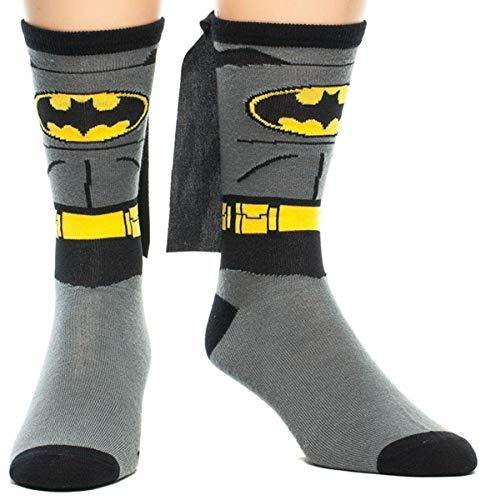 Batman Grey Erwachsene Knee High Cape Sock