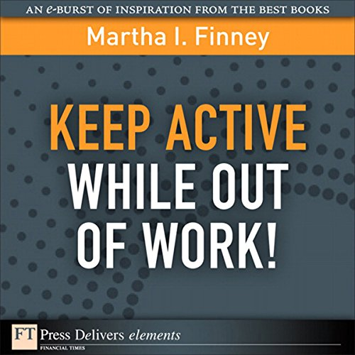 Keep Active While Out of Work! audiobook cover art