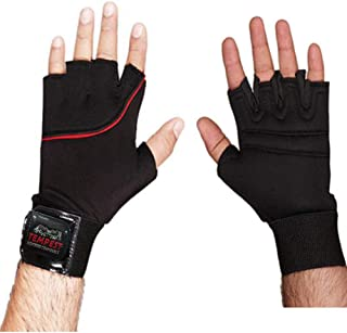 TEMPEST Neo Gym Gloves/Cycling Gloves/Riding Gloves/Stretchable Free Size for Unisex