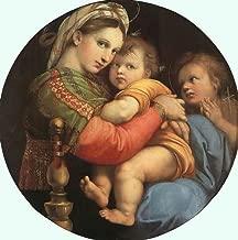 Raphael Madonna della Sedia 1518 72x73 [Kitchen]