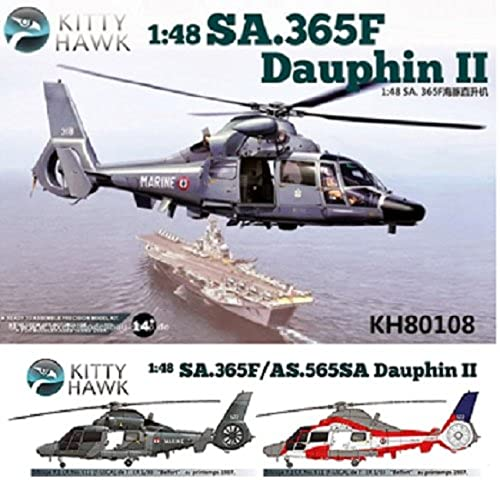 1 48 SA.365F Dauphin II anti-submarine helicopter (japan import)
