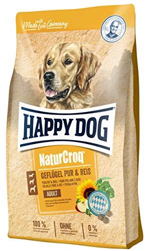 Happy Dog NaturCroq Puur & rijst, 15 kg